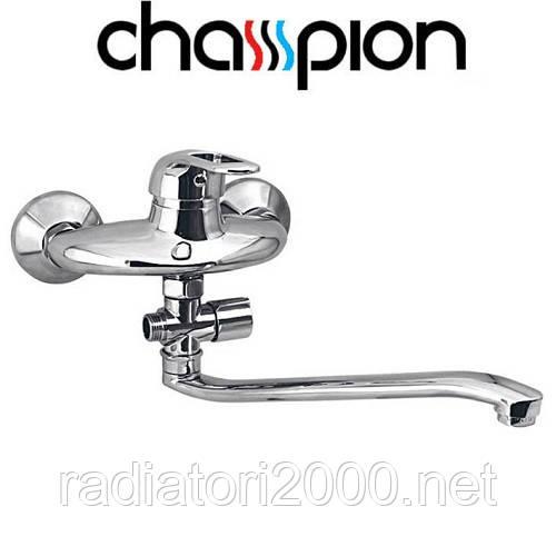 Смеситель для ванны длинный нос CHAMPION COSMOS (CHR-006)