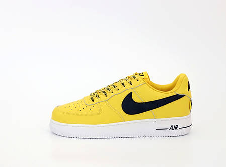 "Кроссовки Nike Air Force Low ""Желтые"", фото 2"