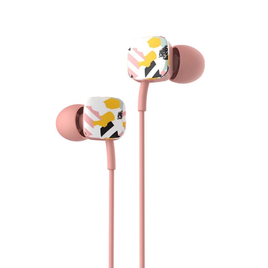 Наушники Havit HV-E58P, pink