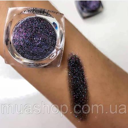 Пигмент для макияжа KLEPACH.PRO -187- Черный Оникс (матовый / звёздная пыль), фото 2