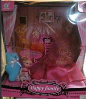 Набор кукол типа барби Семья, на шарнирах, 60741AJW2-3