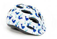 Шлем велосипедный FSK KY501 бело-голубой ()