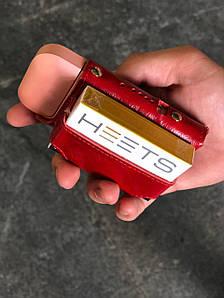 Чехол на IQOS v.1.0. Fisher Gifts VIP алькор красный (кожа)