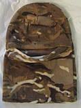 Флисовая шапка-маска (балаклава) камуфлированная, фото 3