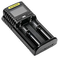 Зарядное устройство для аккумуляторов Nitecore UMS2 (2 канала), фото 1