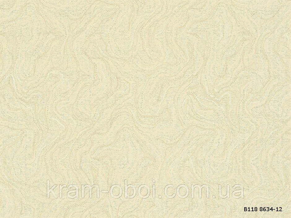 Обои Славянские Обои КФТБ виниловые горячего тиснения шелкография 10м*1,06 9В118 Верона 2 8634-12