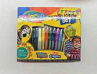 Большой подарочный набор аквагрим+тату детская косметика, Colorino
