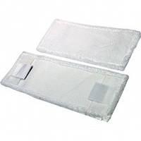 Моп плоский с карманами для швабры, 50 см., микрофибра