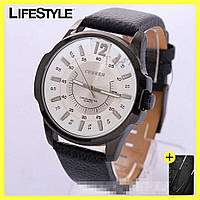 Мужские часы Curren Coloradо (Белый циферблат) + Подарок!, фото 1