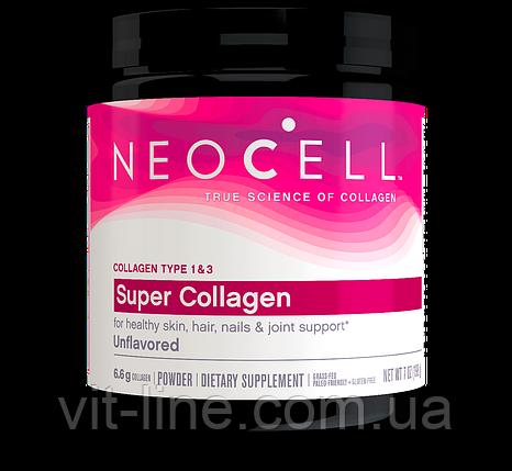 Neocell Суперколлаген тип 1 і 3 198 г, фото 2