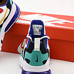 Чоловічі кросівки Nike Air Max 270 React Phantom Multi весна осінь демісезонні. Живе фото. репліка, фото 5