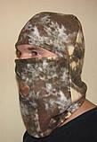 Флисовая шапка-маска (балаклава) камуфлированная, фото 6
