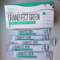Оригинал!!! Дренирующий напиток DrainЕffect Green для похудения и очистки организма