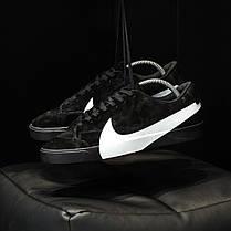 "Кроссовки Nike Blazer City Low LX  ""Черные"", фото 2"