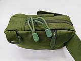 Тактическая EDC сумка однолямочная. Цвета: олива, койот, чёрный, фото 4