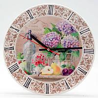 Часы 'Прованс. Гортензия' (d-24 см) (263-6101)