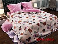 """Семейный набор хлопкового постельного белья из Бязи """"Gold"""" №156183AB Черешенка™"""