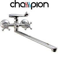 Смеситель для ванны длинный нос CHAMPION MAYFAIR EURO (CHR-143)