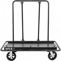 Тележка для транспортировки гипсокартона до 900 кг YATO