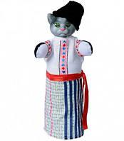 "Кукла-рукавичка ""ПАН КОЦЬКИЙ"" (пластизоль, ткань), В081/1"