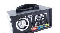 Мультимедийная колонка Atlanfa-8960 светодиодный дисплей MP3/microSD/SD/USB