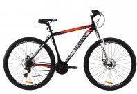 """Велосипед ST 29"""" Discovery TREK AM DD 2020 (черно-зеленый с серым)"""