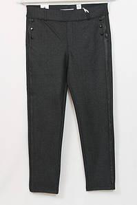 Турецкие женские теплые брюки с принтом елочка, размеры 50-64