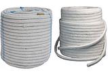 Шнур уплотнительный для дверей котла и печи термостойкий круглый 8мм (Керамический), фото 2