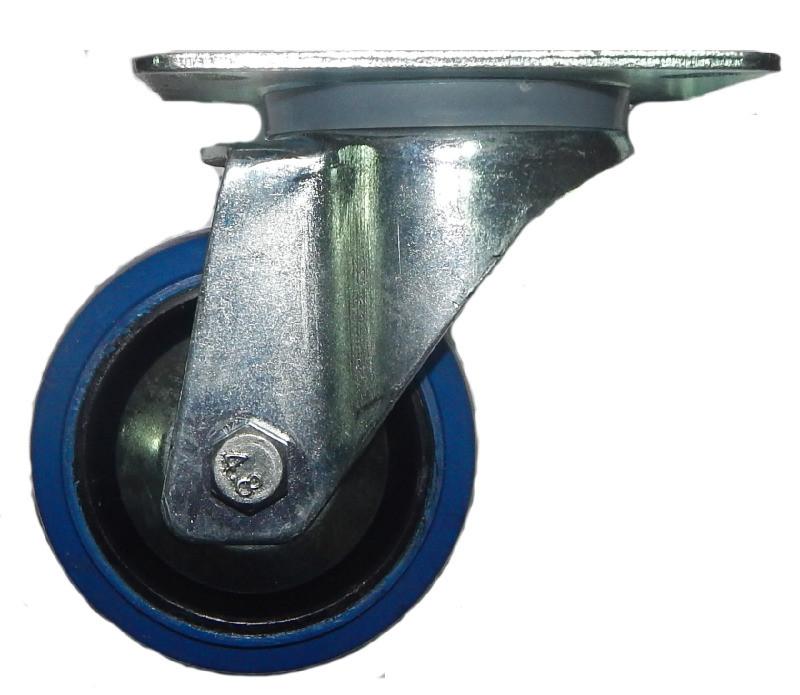 FREE CASE W03 (37081), Колесо без гальма 80 мм синє