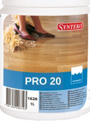 Лак полиуретановый полуматовый водоразбавимый Synteko Pro