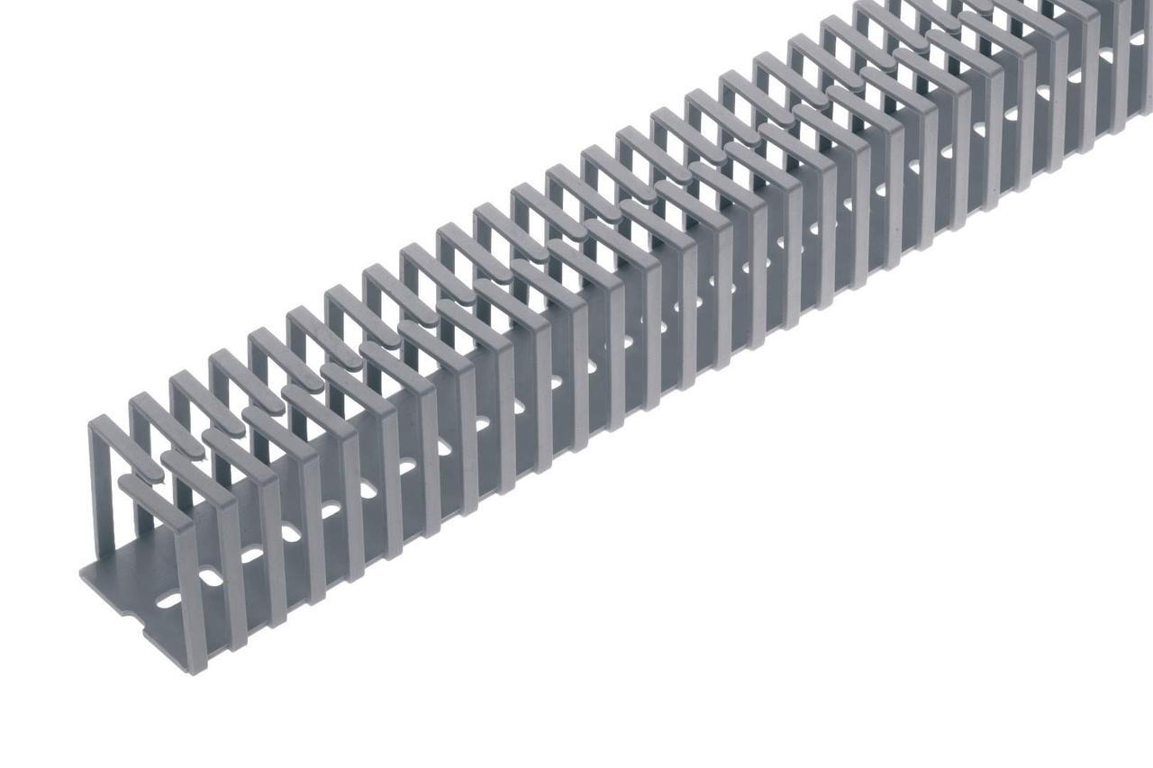 Короб перфорированный гибкий 12.5x12.5 Elettrocanali EC23411 без крышки (самоклейка)