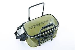 Сумка рибальська Tramp Fishing bag EVA Avocado - S (14 Л) 35 х 20 х 20 см