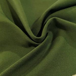 Ткань джинс-бенгалин оливковый