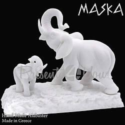 Фигура «Три слона» h-16 см. (395-0348)