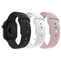 Смарт Часы Apple band W4 (розовые)
