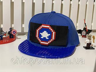 "Бейсболка конструктор ""Капитан Америка"""