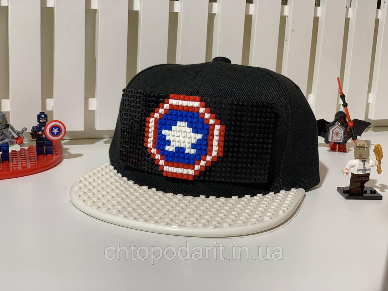 "Бейсболка конструктор ""Капитан Америка"" Код 12-0817"