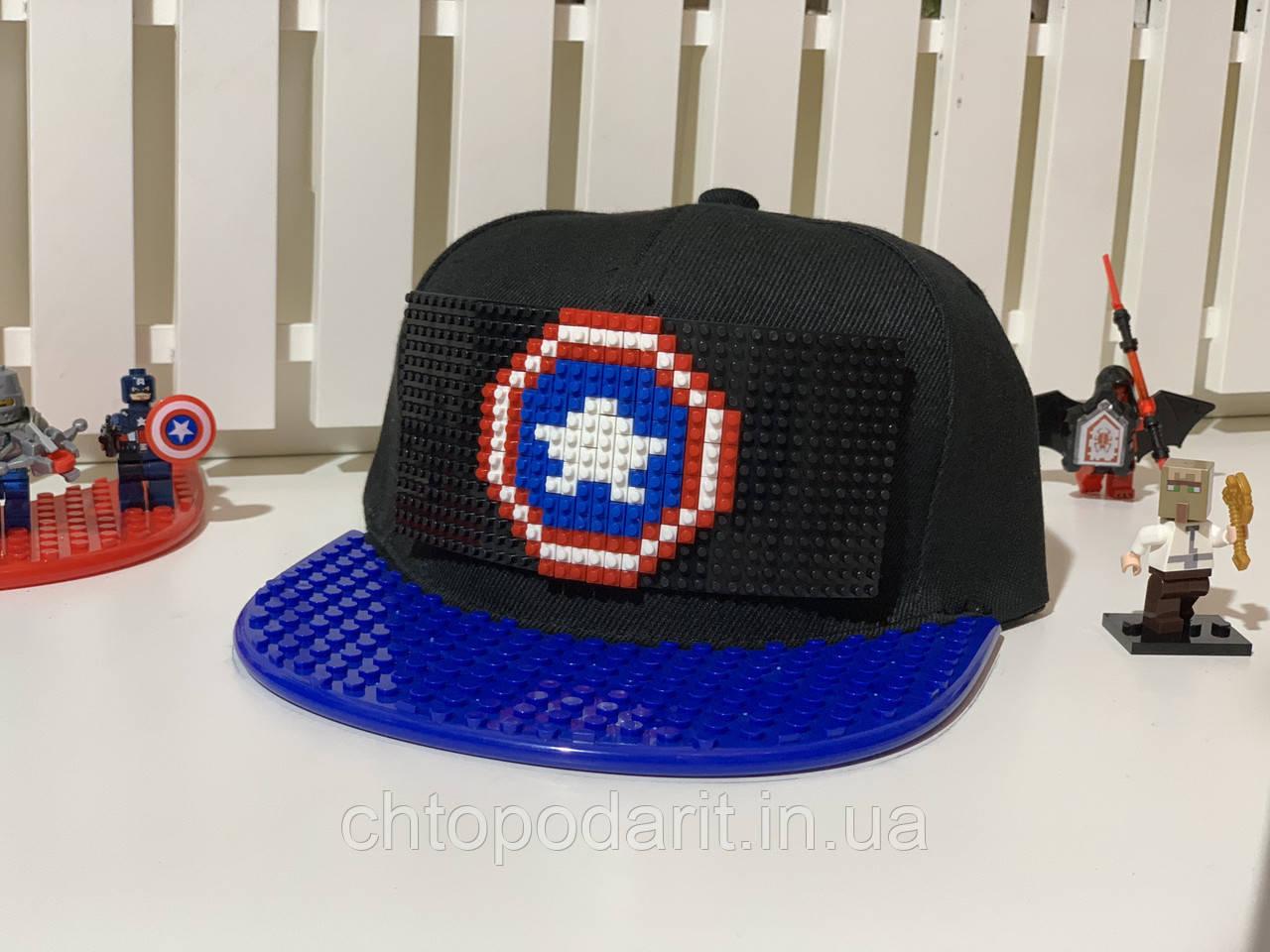 "Бейсболка конструктор ""Капитан Америка"" Код 12-0885"