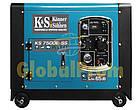 Бензиновый генератор Könner & Söhnen KS 7500E-SS, фото 3