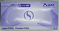 Перчатки нитриловые нестерильные неопудренные/ размер S / Sempercare Nitrile/ Игар