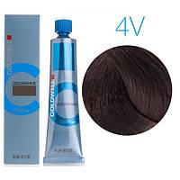 Тонирующая крем-краска для волос Goldwell Colorance 60 мл 4V (цикломен)