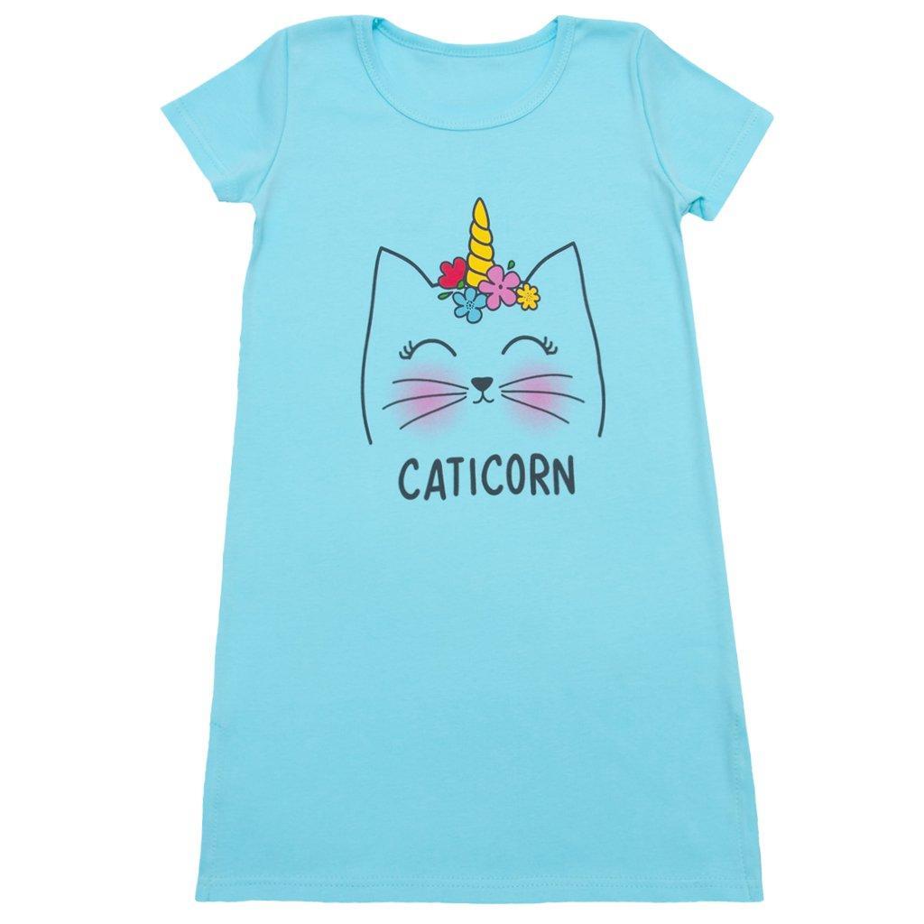 Стильная ночная сорочка для девочки