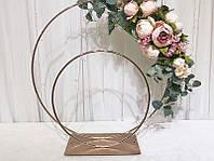 Свадебная стойка железная на стол