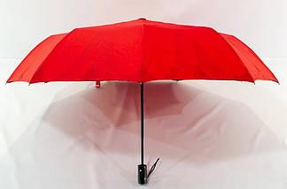 Зонт женский полуавтомат с куполом 98 см Mario с двойной тканью и цветком изнутри. Анти-ветер, 9 спиц., фото 3