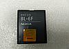 Оригинальный аккумулятор ( АКБ / батарея ) BL-6F для Nokia 6788 | N78 | N79 | N95 1200mAh