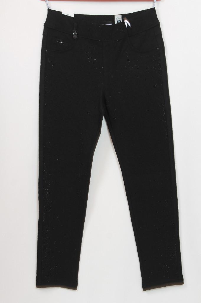 Турецкие женские брюки с россыпью страз, размеры 48-54
