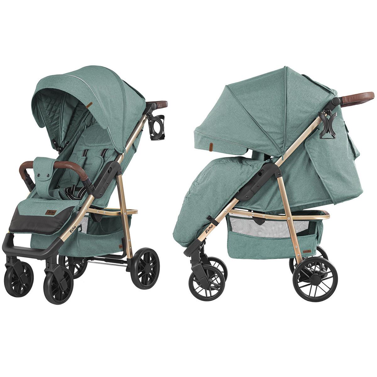 Коляска прогулочная CARRELLO Echo CRL-8508/1 Emerald Green +дождевик
