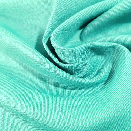 Ткань джинс-бенгалин мята, фото 2
