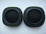 Амбушюры черные (подушечки) всборе с каркасом для наушников Marshall Major II, III Mid anc Bluetooth, фото 6