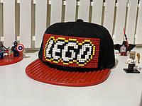 """Бейсболка конструктор """"Лего"""" Код 12-0937"""
